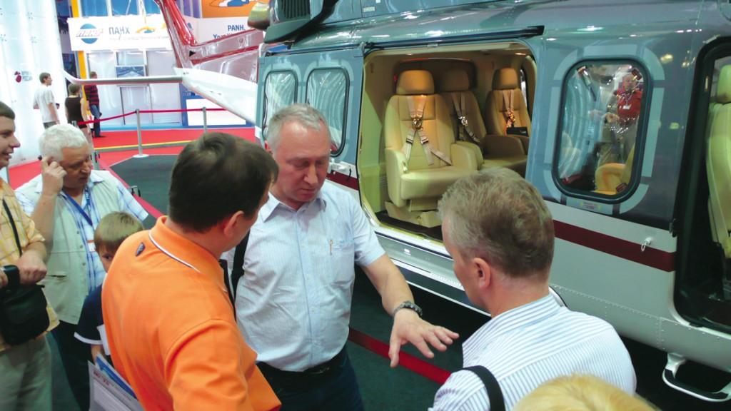Вертолетный рынок растет – HeliRussia развивается