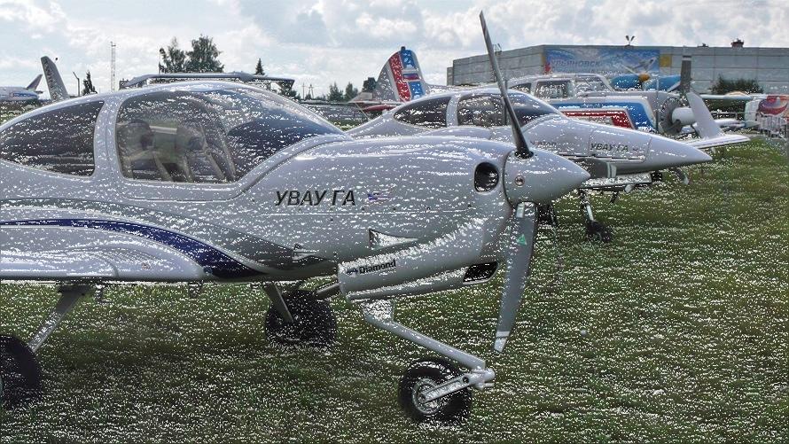 «Каша» из самолетов первоначального обучения