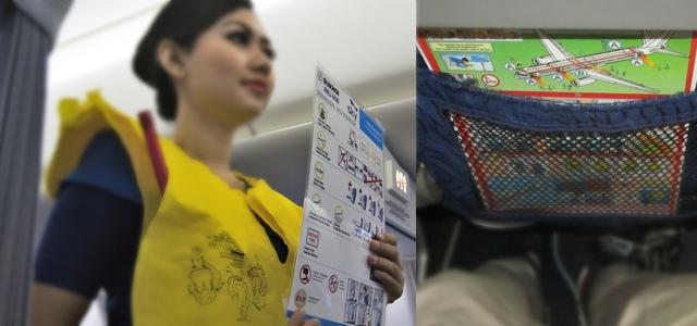 Дизайн инструкции аварийного покидания ВС – имидж авиакомпании