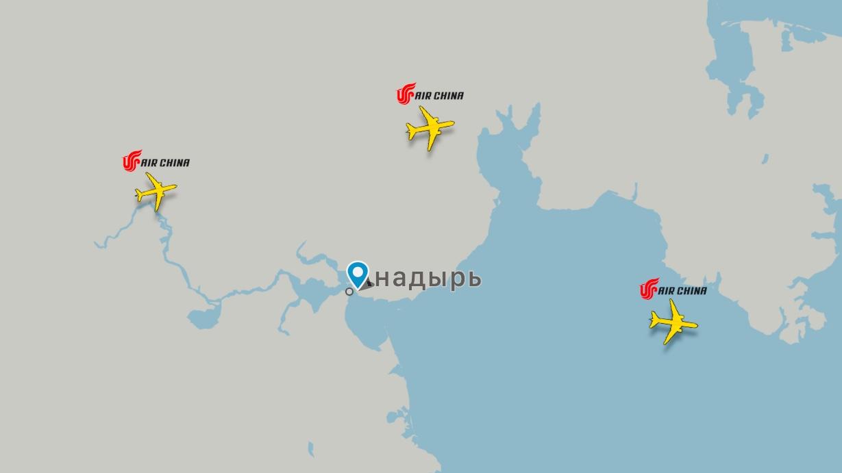 Росавиация об аварийной посадке B777-300 Air China в «Анадырь», 04.03.2019