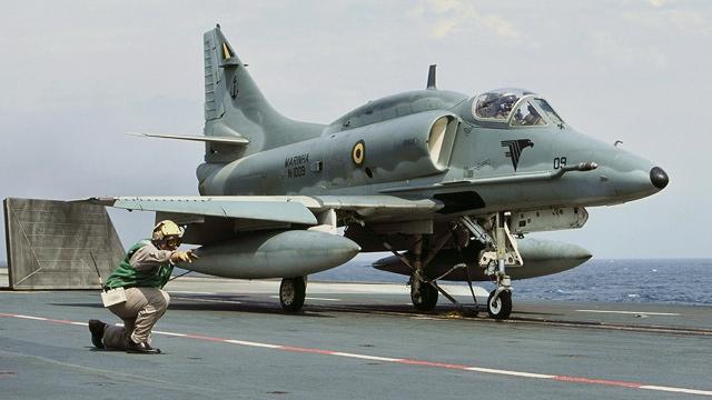 McDonnell Douglas A-4KU Skyhawk